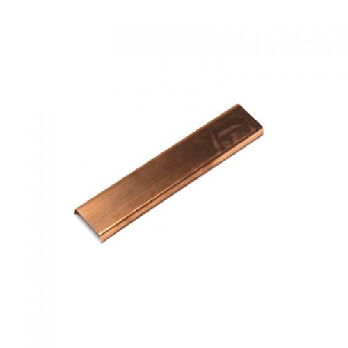 Closeup of Copper Shutter Capping.