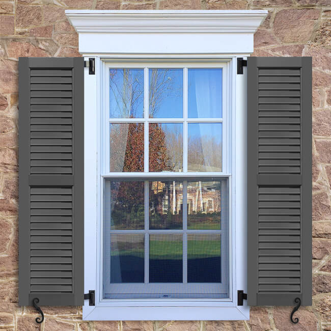 FUL Faux Louver Shutter | Exterior Louver Shutters | Timberlane Store