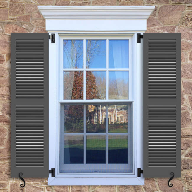TR2 Fixed Louver Shutter | Exterior Louver Shutters | Timberlane Store