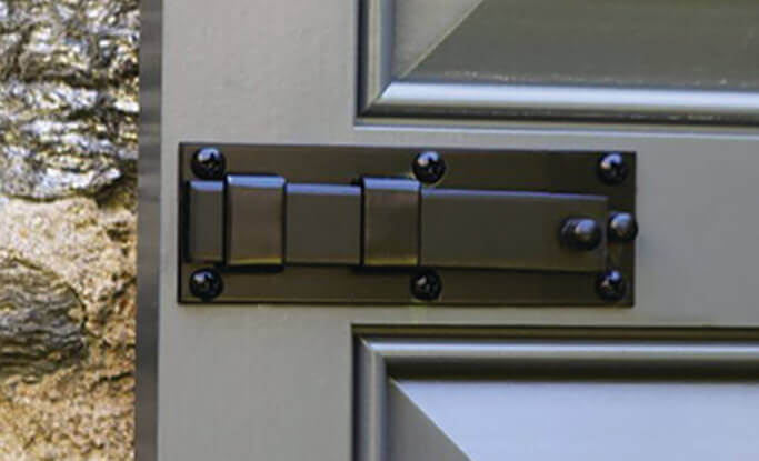 timberlane offers shutter locks to keep shutters closed and add authentic, elegant details