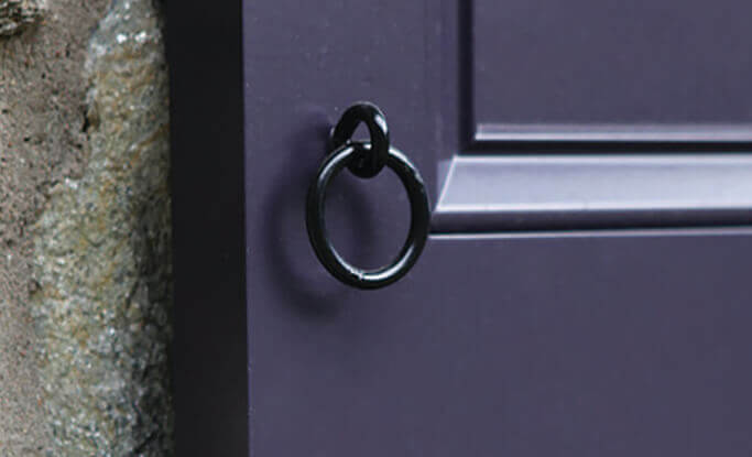 timberlane's shutter pull rings help pull shutters closed and add authentic style and character