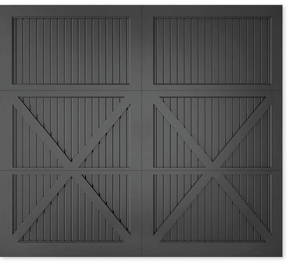 full image of Timberlane's 301 carriage garage door style