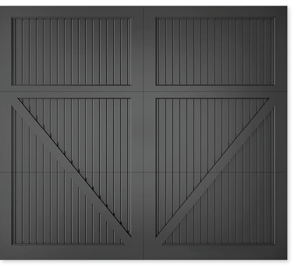 full image of Timberlane's 303 carriage garage door style