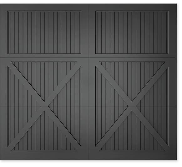 full image of Timberlane's 305 carriage garage door style
