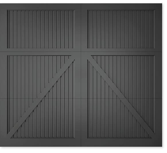 full image of Timberlane's 306 carriage garage door style