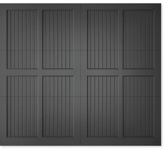 full image of Timberlane's 307 carriage garage door style