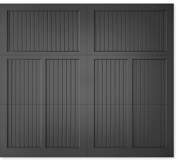 full image of Timberlane's 308 carriage garage door style