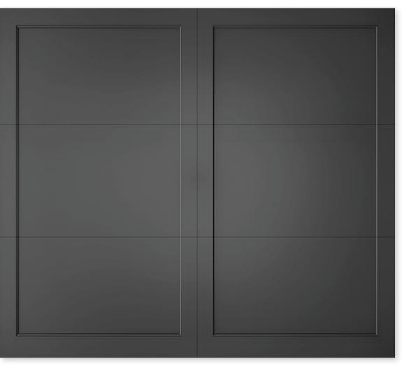 full image of Timberlane's custom carriage garage door style