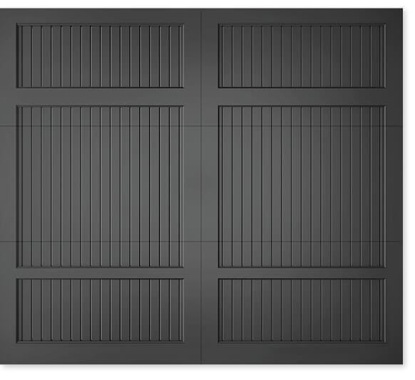 full image of Timberlane's 312 carriage garage door style