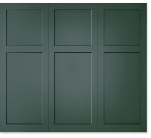 full image of Timberlane's 401 trifold garage door style