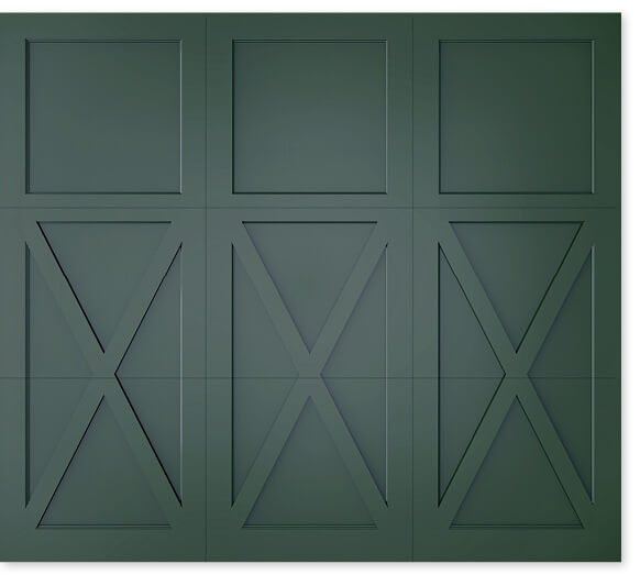 full image of Timberlane's 402 trifold garage door style