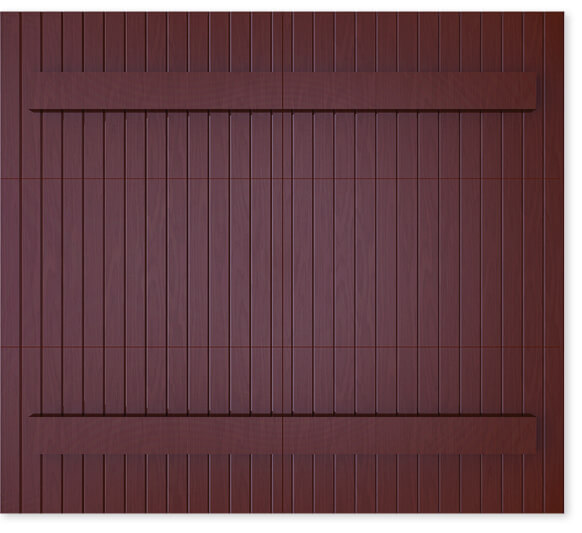 full image of Timberlane's 503 farmhouse garage door style
