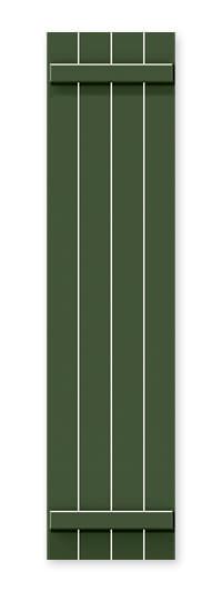 full image of Timberlane's BBO open board and batten shutter