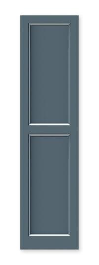 full image of Timberlane's FP2 flat panel shutter