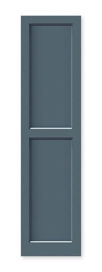 full image of Timberlane's FP5 flat panel shutter