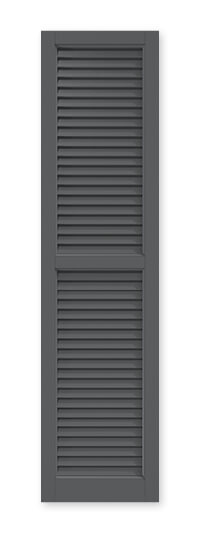 full image of Timberlane's FUL faux louver shutter
