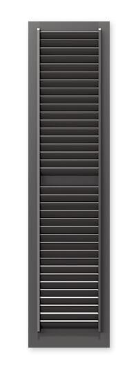 full image of Timberlane's NE1 fixed louver shutter