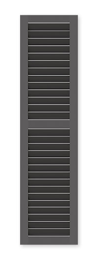 full image of Timberlane's SW1 fixed louver shutter