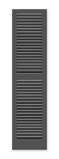 full image of Timberlane's TR2 fixed louver shutter