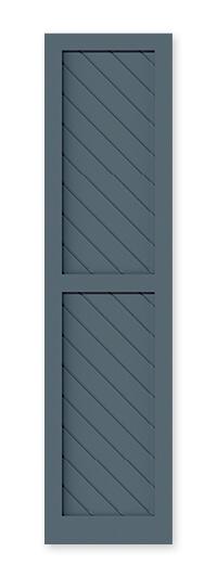 full image of Timberlane's VGD flat panel shutter