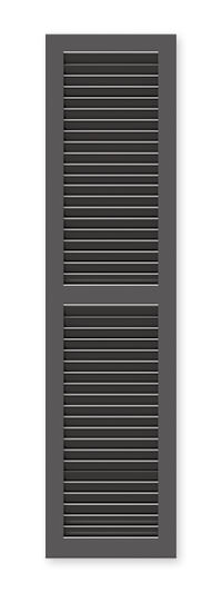 full image of Timberlane's WL1 fixed louver shutter