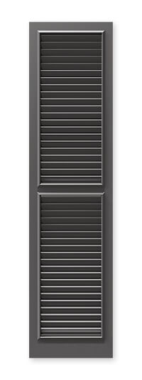 full image of Timberlane's WL2 fixed louver shutter
