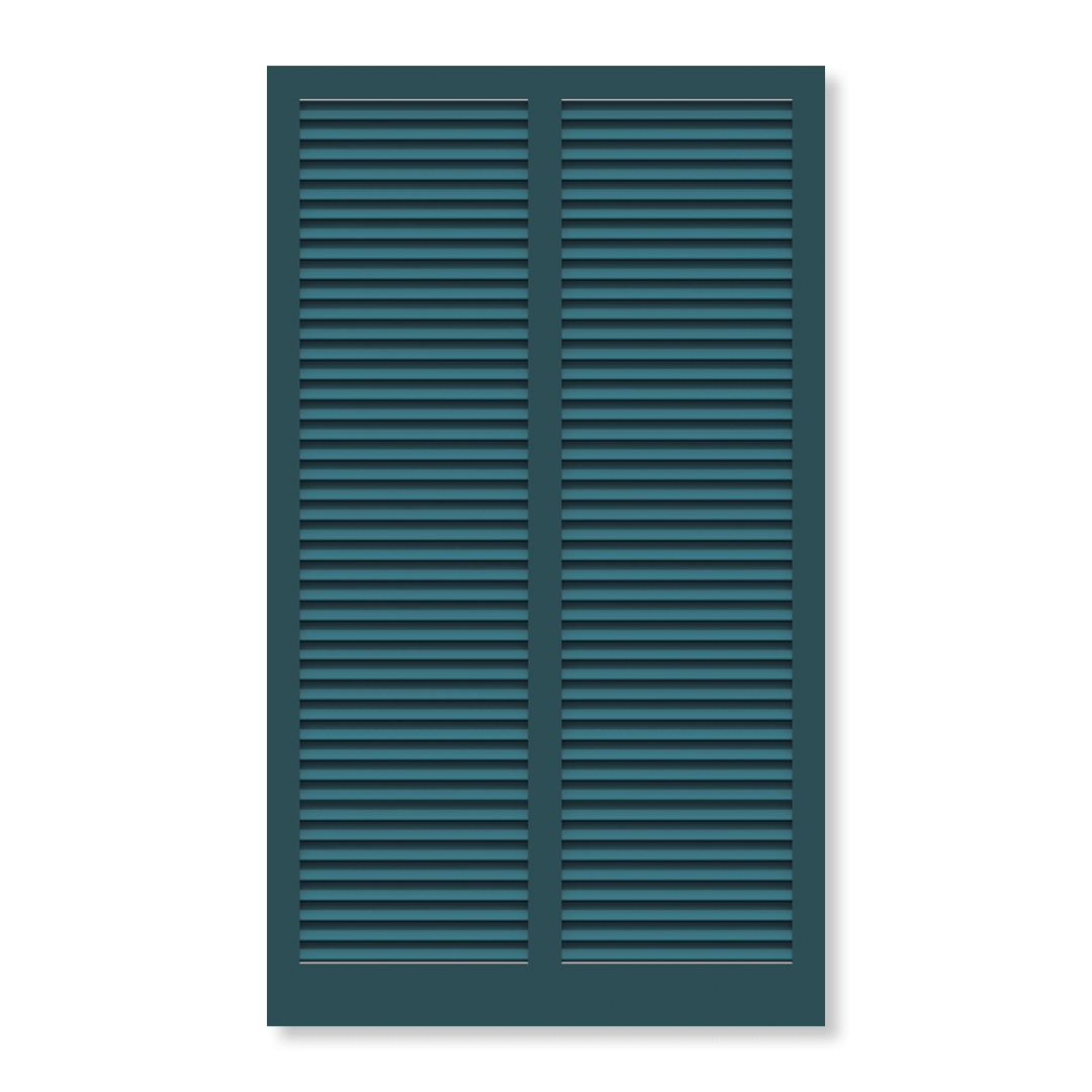 Timberlane's fixed louver standard bahama shutters offer tropical vibes and the ability to block unwanted sun glare