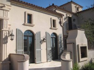 Choosing shutters for your home timberlane shutter experts for Spanish style shutters