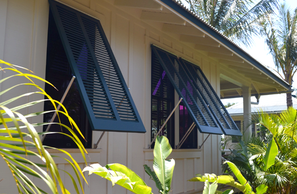 Choosing shutters for your home timberlane shutter experts - The rolling shutter home in bohemia ...