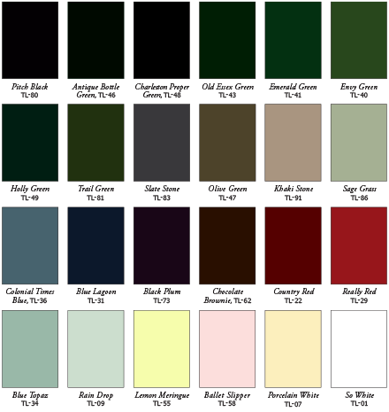 Outside Window Shutters Paint Colours