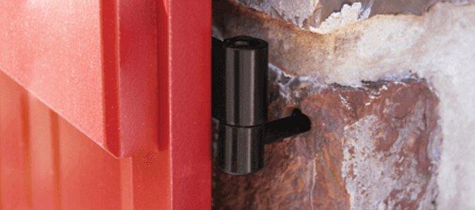 exterior shutter pintel