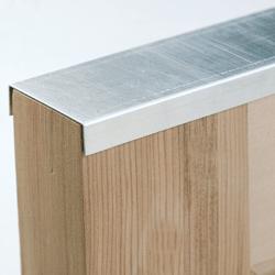 aluminum shutter capping