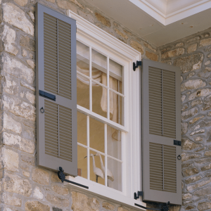 Shutter styles timberlane for Bermuda style exterior shutters