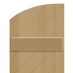 radius-top shutters