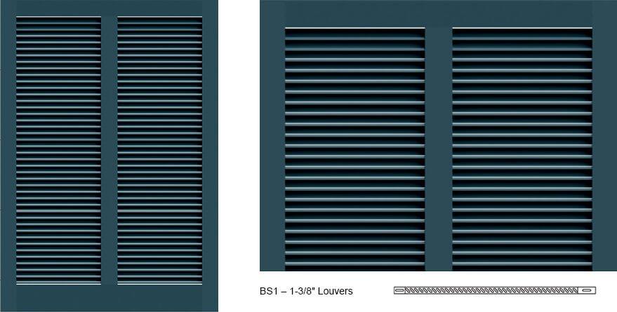 BS1 Bermuda Shutter Profile