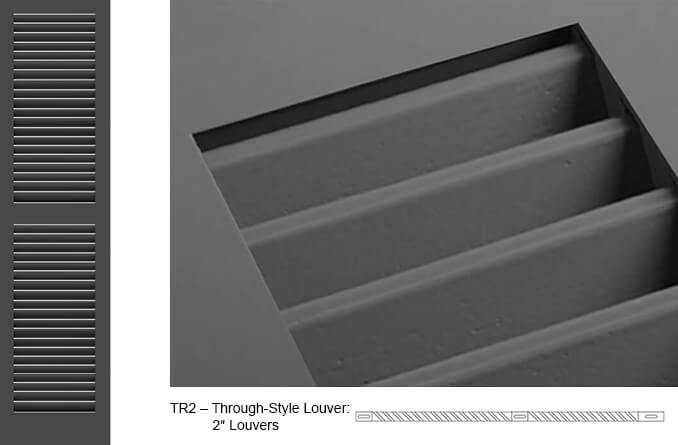 TR2 Fixed Louver Shutter
