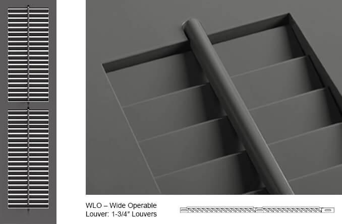 WLO Operable Louver Shutter