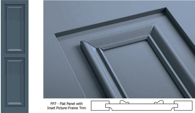 flat panel shutter