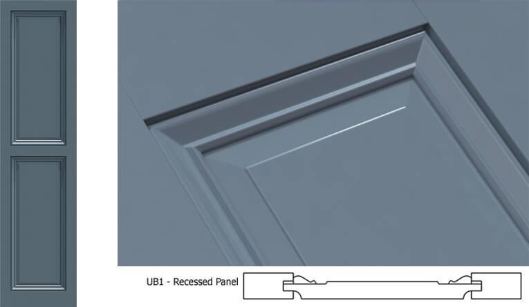 UB1 Panel Shutter