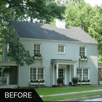 Before And After Exterior Shutters Shutter Gallery