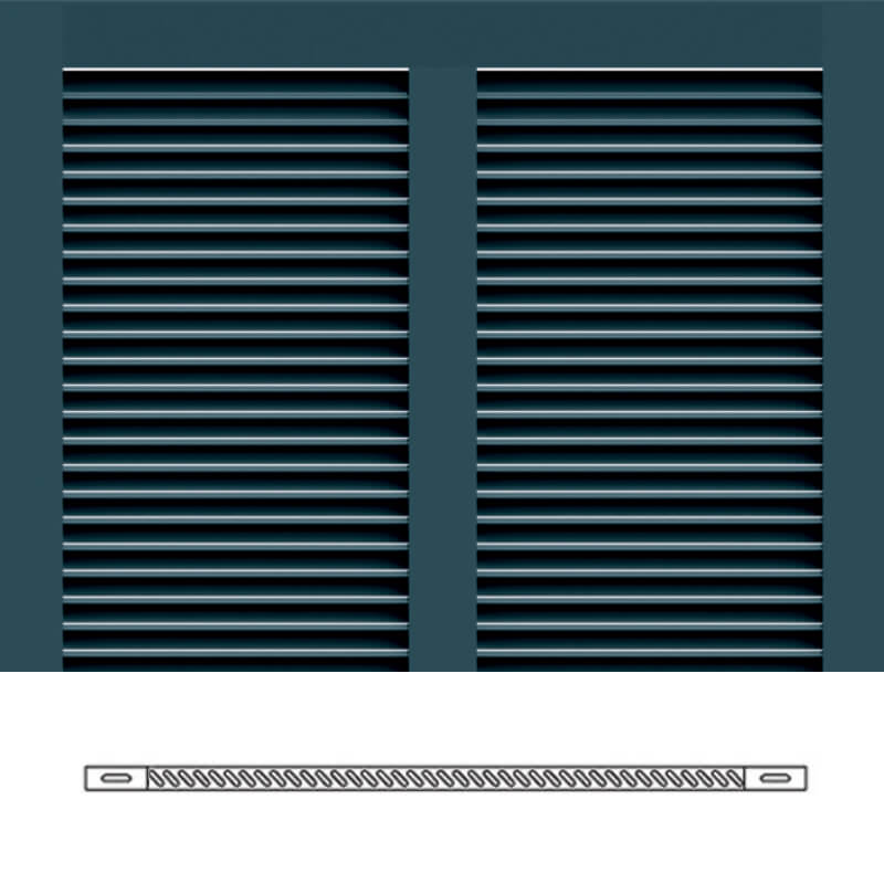 Bs1 bermuda shutter profile bermuda with 1 3 8 louvers timberlane for Bermuda style exterior shutters