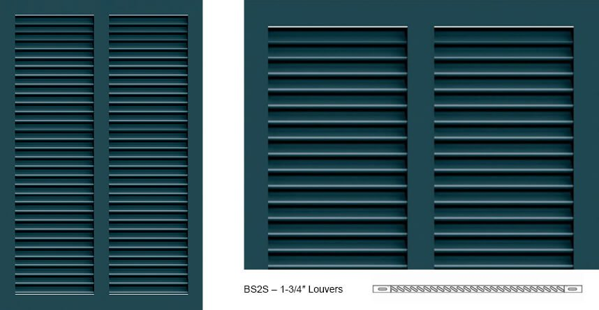 BS2S Bermuda Shutter Profile