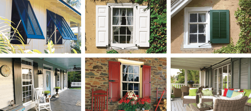 Exterior window shutters customize yours timberlane - Where to buy exterior window shutters ...
