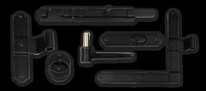 Exterior Shutter European hardware