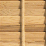 Timberlane wood shutter with large tilt rod