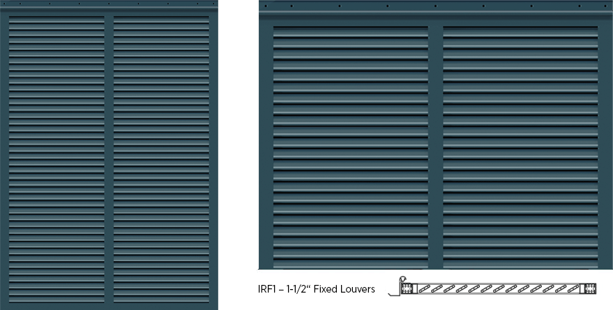 Bermuda Style Exterior Shutters - IRF1