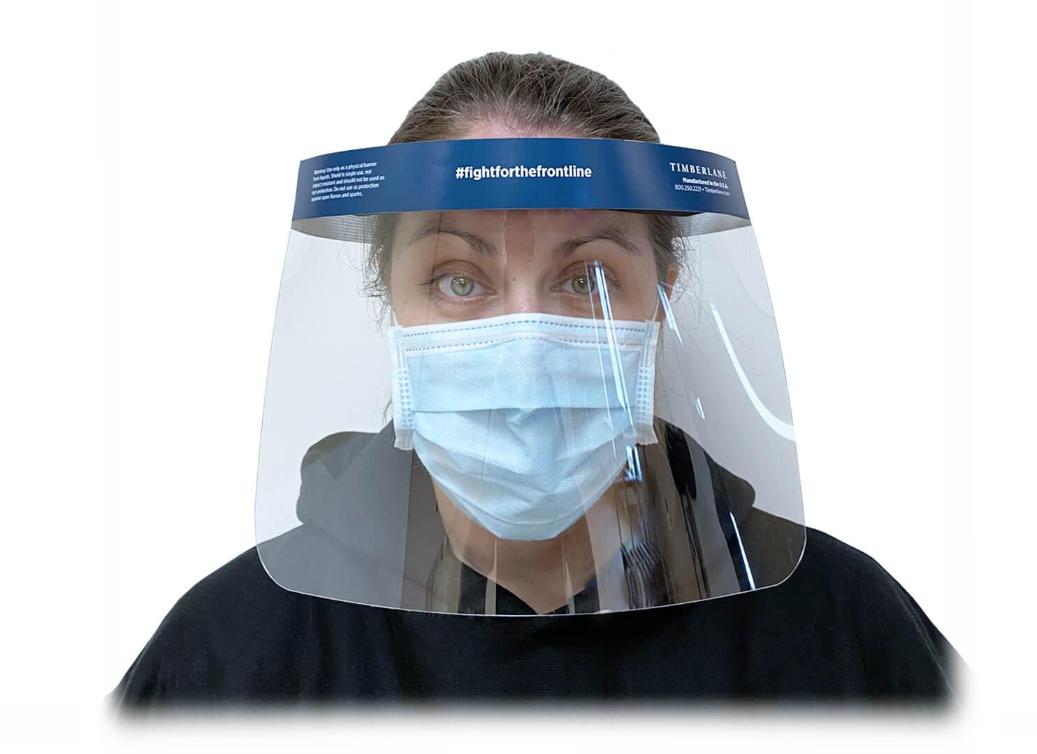 Timberlane Disposable Full-Length Face Shield
