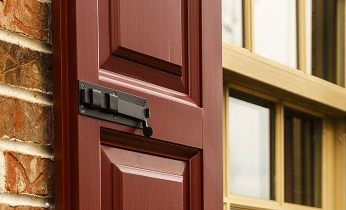 Timberlane offers rabbeting & beading options to create a seamless overlap for functional exterior shutters