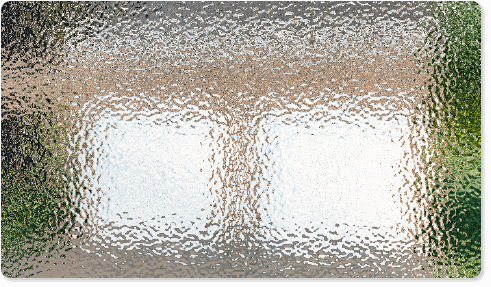 image of a textured glass option for Timberlane's classic garage door styles