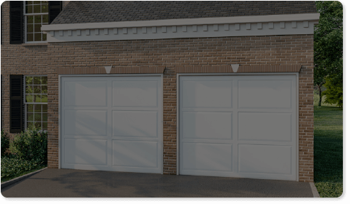 image of a tinted glass option for Timberlane's classic garage door styles